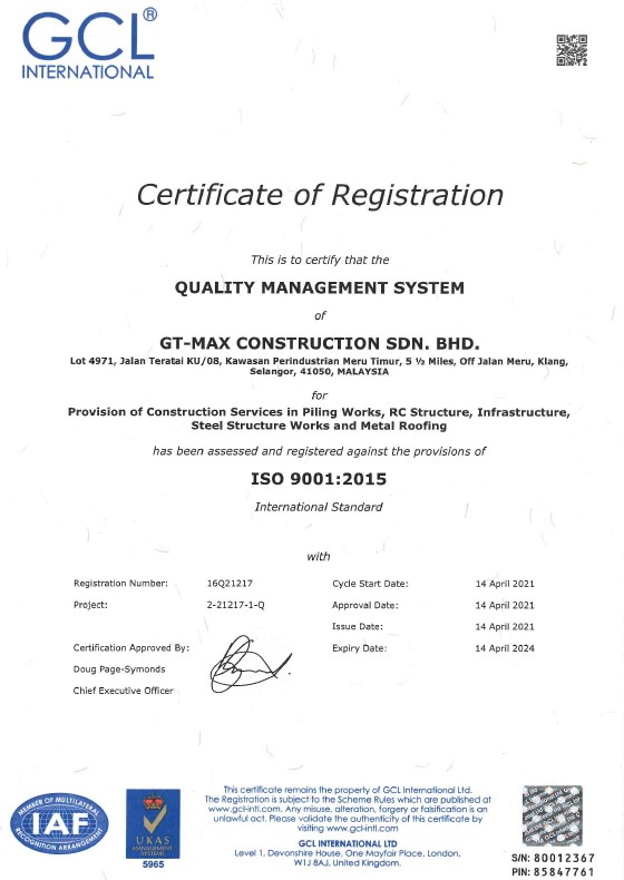 GTMC ISO